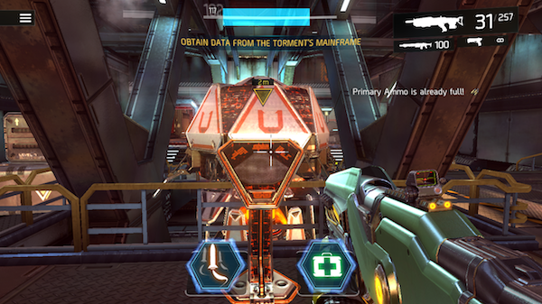 Shadowgun Legends single player missions screenshot 1