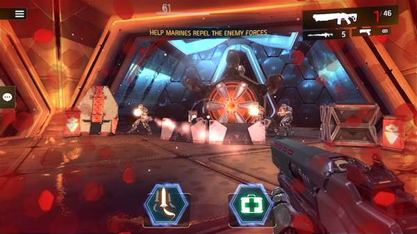 Shadowgun Legends single player missions screenshot 2