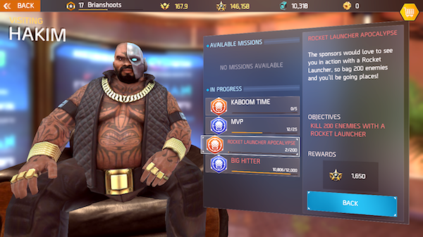 Shadowgun Legends single player missions screenshot 3