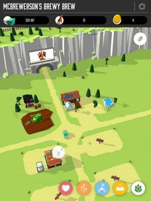 Brew Town iOS review screenshot 1