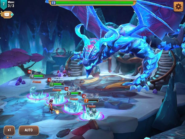 Might and Magic: Elemental Guardians iOS review screenshot 3