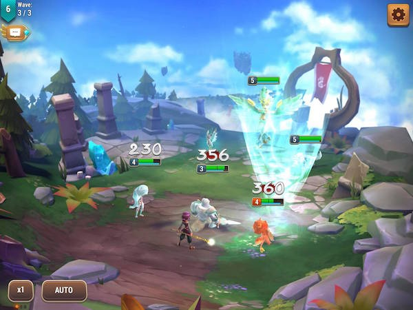 Might and Magic: Elemental Guardians iOS review screenshot 2