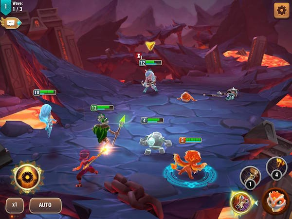 Might and Magic Elemental Guardians iOS review screenshot 1
