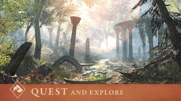The Elder Scrolls: Blades iOS artwork - One of the screenshots from the App Store