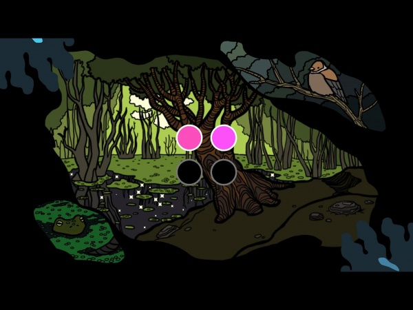 Only When Howling iOS review screenshot 1 - A puzzle in the game