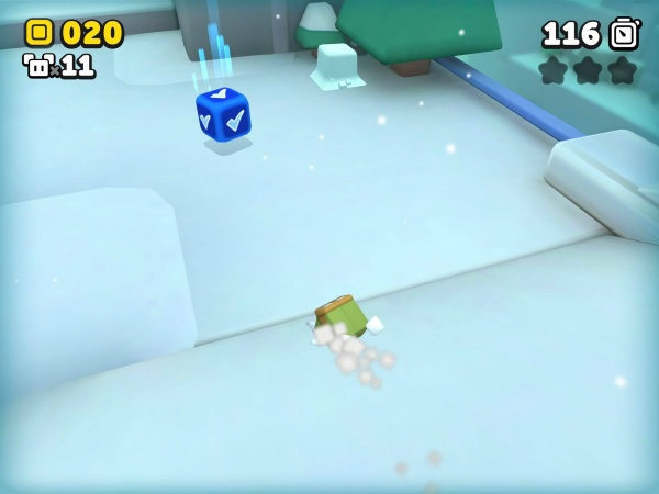 Suzy Cube review screenshot - An ice level