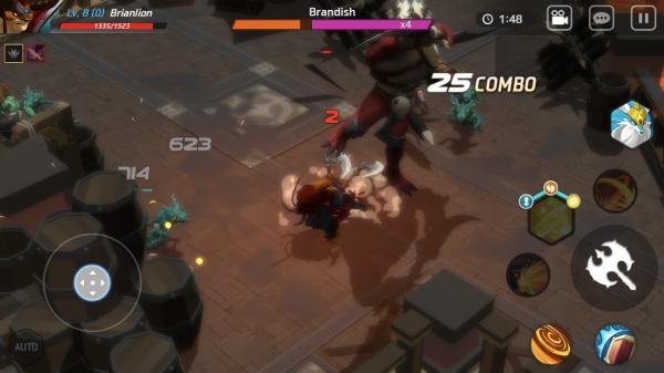 Maze: Shadow of Light preview screenshot - A boss fight