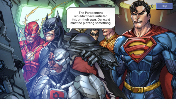 DC Unchained preview screenshot - A cut scene