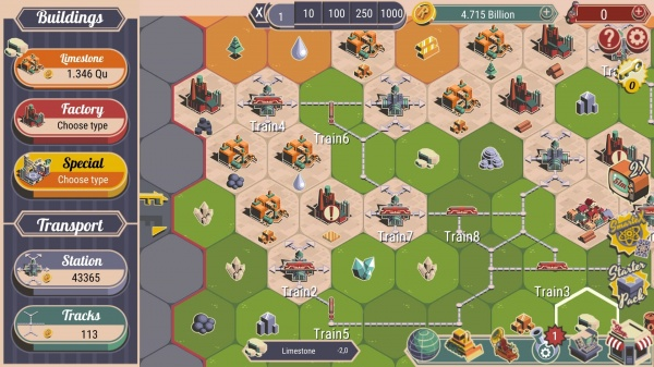 Rocket Valley Tycoon iOS review screenshot - Spreading out into different areas