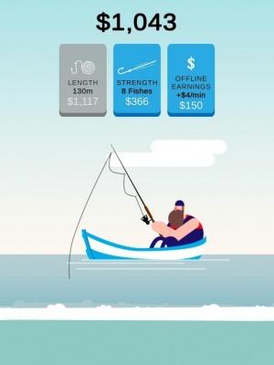 The Fishing Master iOS guide screenshot - Your fisherman