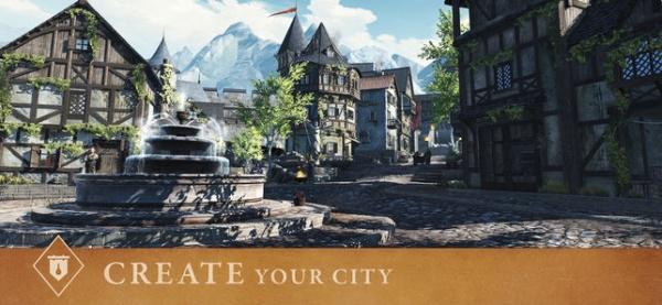 The Elder Scrolls: Blades iOS artwork - Create your city