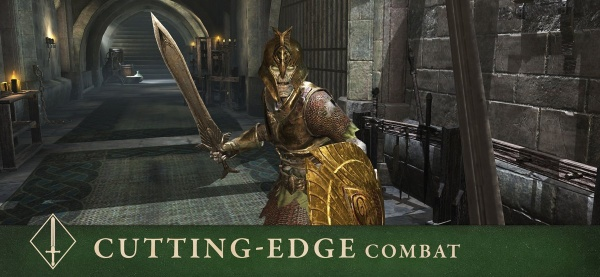 The Elder Scrolls: Blades iOS artwork - Cutting edge combat