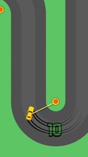 Sling Drift Android screenshot - A corner drift