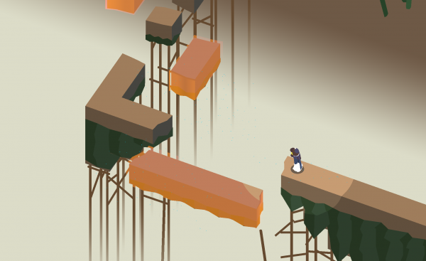 Where Shadows Slumber iOS screenshot - A platforming puzzle