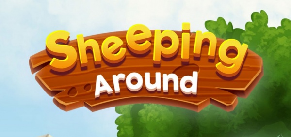 Sheeping Around artwork - The main logo of the game