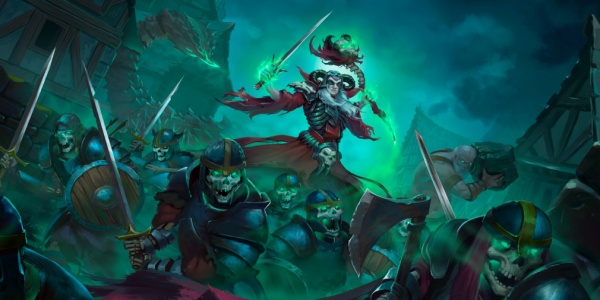 Undead Horde is a hack 'n' slash meets strategy game that's available now for iOS