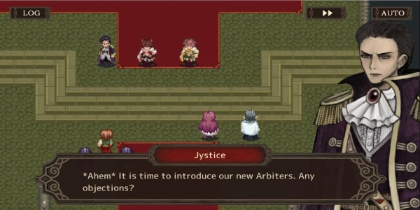 Monochrome Order is an RPG for iOS and Android with a focus on branching narratives