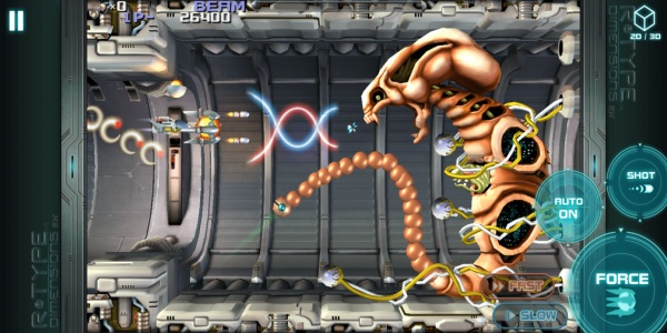 Arcade classic R-Type Dimensions EX blasts it's way onto iOS