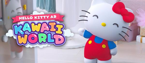 Pre-register for Hello Kitty AR: Kawaii World now