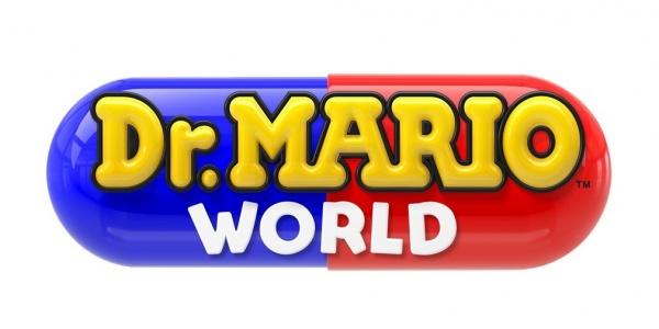 Dr. Mario World logo