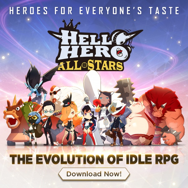 Ambitious idle RPG Hello Hero All Stars lets you collect hundreds of