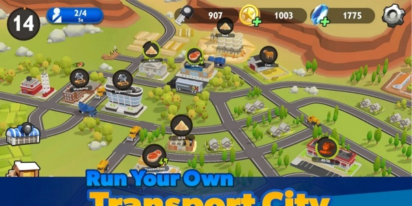 Transport City: Truck Tycoon is a logistics simulator that's available now for iOS and Android
