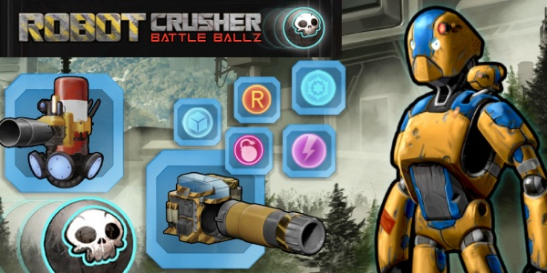 A behind the scenes look at action packed Sci-Fi pinball game, Robot Crusher Battle Ballz