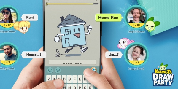 Koongya Draw Party, the drawing quiz game, will release for iOS and Android next week