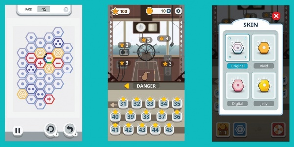 Awarding-winning puzzler Make One is now available for Android